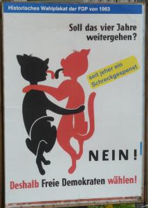 Wahlplakat der FDP