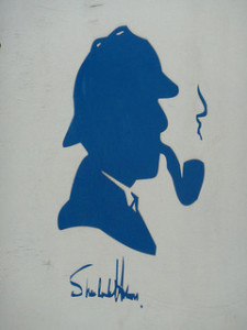 Sherlock Holmes, Bild von  givingnot@rocketmail.com