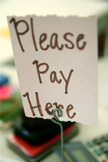 Please pay here, by stevendepolo