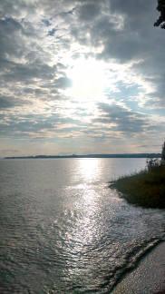 Bodensee vom ZU-Strand gesehen
